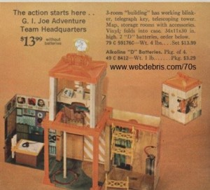 G. I. Joe Adventure Team Headquarters from 1971