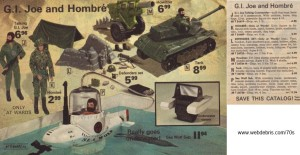 G.I. Joe and Hombre from 1975