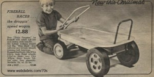 Fireball Racer Dune Dragster Wagon from 1972