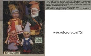 The Eugene Gnome Family from 1979