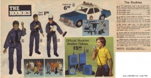 The Rookies Action Figures from 1975