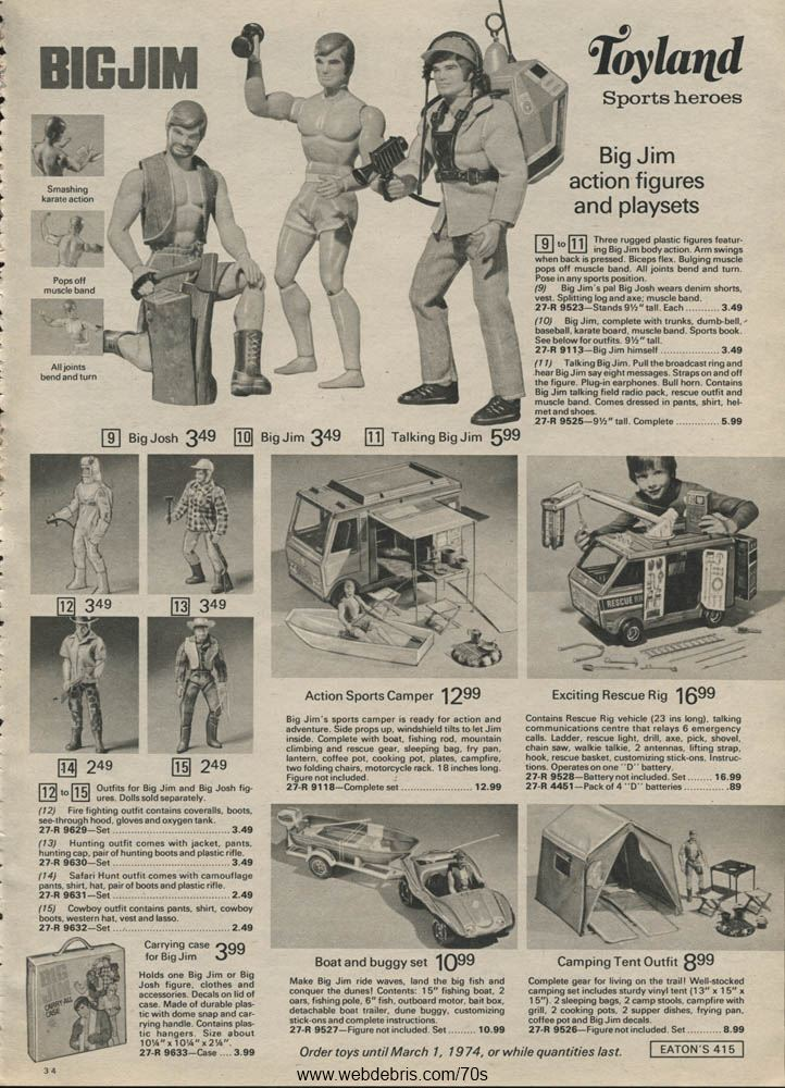 Big Jim Action Figure Assortment