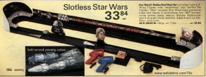 Slotless Star Wars Race Track from 1978