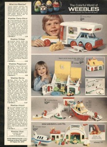 Weebles from 1974