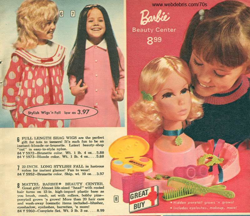 Barbie Beauty Center from 1972