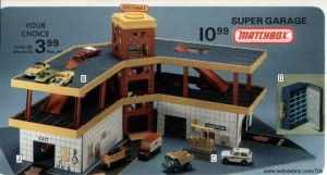 Matchbox Super Garage from Wards 1978