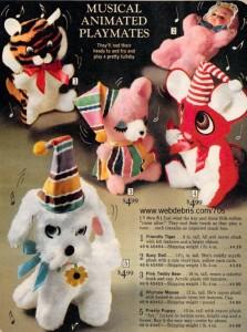 Musical Animated Playmates - Sears 1972