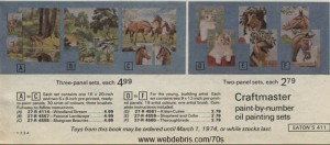 Paint by Number Set - Eatons 1973