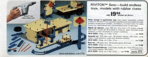 Riviton Set from Wards 1978