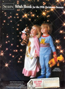 Sears Wishbook Cover 1976