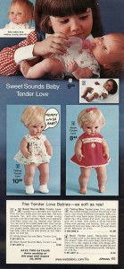 Sweet Sounds Baby Tender Love from JCPenny 1974