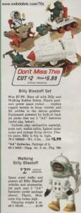 Billy Blastoff from 1971 - Sears