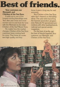 Chicken of the Sea Ad from the 70s
