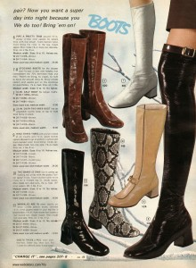 Gogo Boots from Wards 1970
