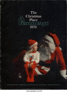 JCPenneys 1970 Christmas Catalog Cover