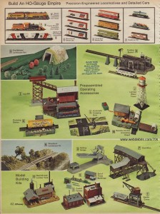 Ho Scale Train Accessories from 1976