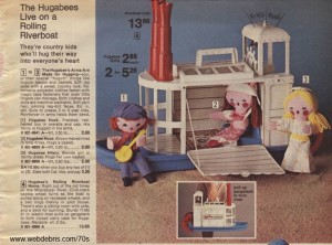 Hugabees and Riverboat from 1976