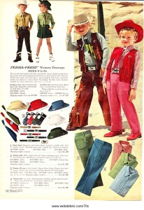Kids Western Wear 1970 Part 1