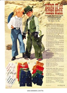 Kids Western Wear 1970 Part 2