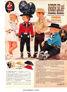 Kids Western Wear 1970 Part 4