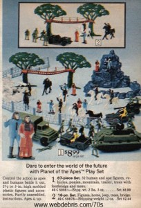 Planet of the Apes Play Set 1975