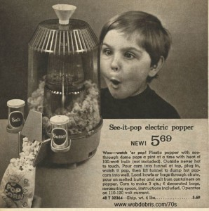 See It Pop Electric Popper from Wards 1968