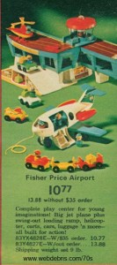 Fisher Price Airport 1972
