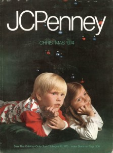 JCPenny 1974 Christmas Catalog Cover