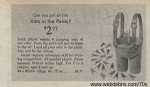 Ants in the Pants from 1971