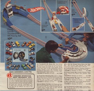 Hot Wheels Thundershift 500 Race Track