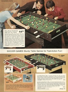 Soccer Table from 1974