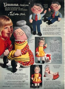 Joyce Miller Dolls From 1972 - Grandpa and Grand