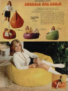Snuggle Bag Chair from 1970